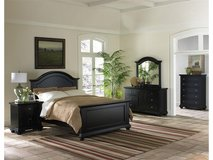 """Display Model"" New Brook Black Queen Bed in Beaufort, South Carolina"
