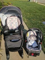 Stroller & Car Seat Travel Set (Graco Modes Travel System) in Elizabethtown, Kentucky