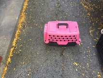 Dog crate (pink) in Fort Drum, New York