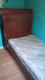 Stanley twin sleigh bed in Keesler AFB, Mississippi