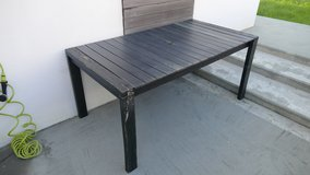 2014 Portside Outdoor Dining Table and Benches in Okinawa, Japan