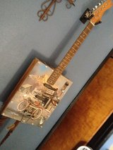 Guitar electric custom made in Yucca Valley, California