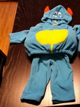 12mth Monster Costume in Aurora, Illinois