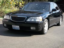 1999 Acura 3.5 RL with Black exterior on Black leather interior in Fort Lewis, Washington