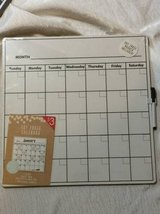 Monthly Dry Erase Calendar - $3 (Yorktown) in Gloucester Point, Virginia