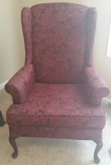 Red wing back chair in Fort Bragg, North Carolina