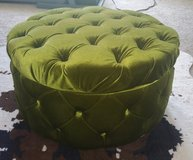 Green ottoman with storage in Fort Bragg, North Carolina