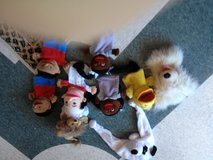 8 Puppets and an amimal hat in Okinawa, Japan