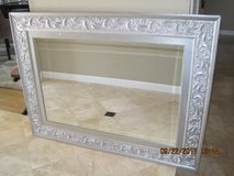 Silver 3' X 4' Mirror With Beveled Glass in Travis AFB, California