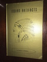 INDIAN ARTIFACTS BOOK BY VIRGIL RUSSELL in DeRidder, Louisiana