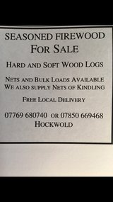 Firewood & Kindling in Lakenheath, UK