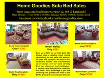 Home Goodies Design Sofa Set Sales in Spangdahlem, Germany