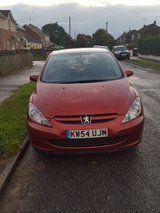 PEUGEOT 307S petrol manual in Lakenheath, UK