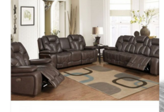 Robo Recliner set- NEW MODEL - in Black and Espresso price includes delivery Belgium in Shape, Belgium