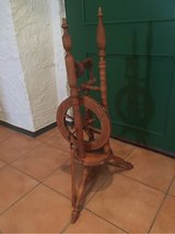 Antique Spinning Wheel in Spangdahlem, Germany
