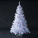 Snow White Artificial Christmas Tree including Decoration in Ramstein, Germany