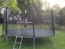 14' Trampoline w/ Safety Enclosure in Lakenheath, UK