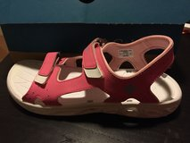 Columbia Youth Pink Sandals in Okinawa, Japan