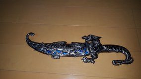 Decorative Dragon Knife in Okinawa, Japan