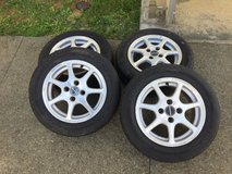 TOYO tires W/Rims in new condition 175/65R14 in Okinawa, Japan