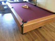 Pool table / billiard table in Wheaton, Illinois