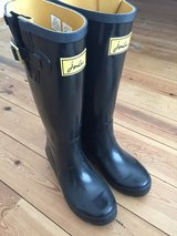 New Ladies Joules Wellies Black uk Size 5 in Lakenheath, UK