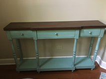 Entry way table/ media console in New Lenox, Illinois