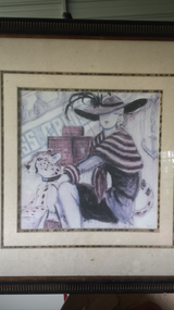 Wall hanging picture in Camp Lejeune, North Carolina