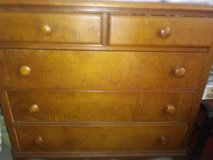 5 drawer dresser w/ Queen head board in Beaufort, South Carolina