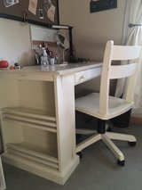 **Solid Wood Desk and Rolling Chair in Wheaton, Illinois