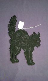 New black cat lace doilies/appliques/window decor in Goldsboro, North Carolina