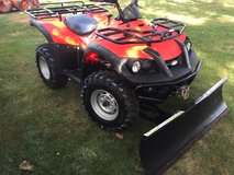 LOW HOURS 4x4 QUAD W/ PLOW in Aurora, Illinois