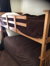 Oak Bunk Beds w/mattresses in Temecula, California
