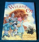 Vintage 1991 The Wizard of Oz Over Sized Hard Cover Book in Chicago, Illinois