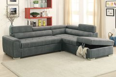 new sectional sofa bed with ottoman in San Bernardino, California