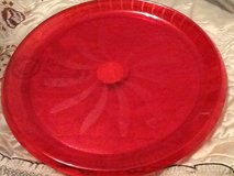 Plastic 16in Red Tray in Ramstein, Germany