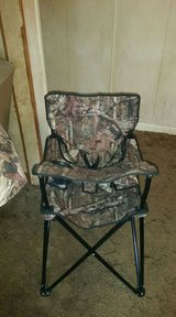 camouflage camping high chair in Hinesville, Georgia