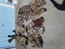 Hunting clothes in Travis AFB, California