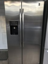 GE Profile stainless ref, like NEW! in Fort Benning, Georgia