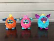 Furby Dolls - 3 For Sale (Orange, Blue, and Pink) in Naperville, Illinois