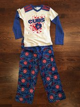 Girls Cubs Pajamas (2-Piece) Size 8-10 in Plainfield, Illinois