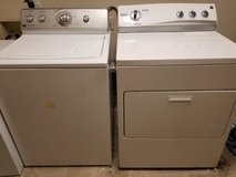 Maytage Centennial commercial technology washer and Kenmore electric dryer in DeRidder, Louisiana