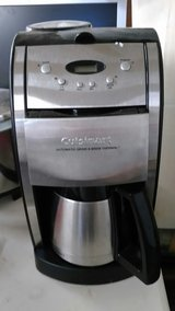 CUISINART GRIND,  BREW & SERVE STAINLESS COFFEE POT in bookoo, US