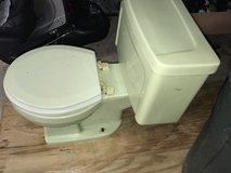 Vintage retro sears toilet light green in New Lenox, Illinois