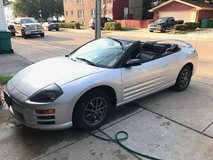 2002 Mitsubishi Eclipse spyder convertible low miles! in New Lenox, Illinois