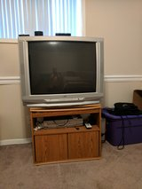 Television and DVD/VHS player in Byron, Georgia