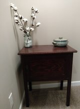 Antique side table in Fort Benning, Georgia