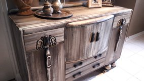 Rustic Buffet / Entryway Cabinet in Houston, Texas