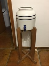 Water jug and stand in Grafenwoehr, GE