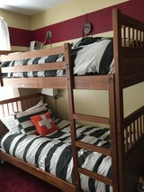 Twin bunk beds in Aurora, Illinois